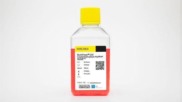 NutriFreez® D10 Cryopreservation Medium