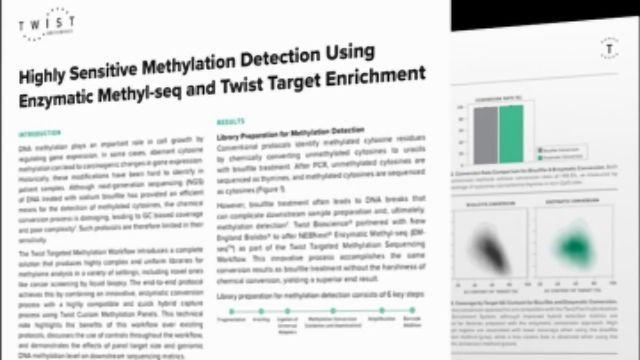 高敏感的甲基化检测