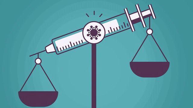 检查疫苗的风险利益型材