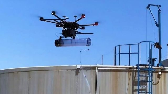 Drones Help Waste Treatment Plants Get to Grips With Bad Smells