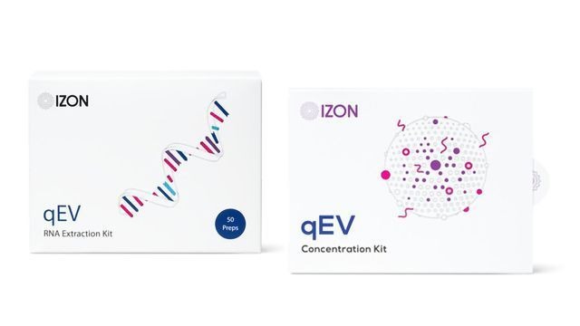 Kits by Izon Science Standardize Extracellular Vesicle Concentration and EV-RNA Extraction
