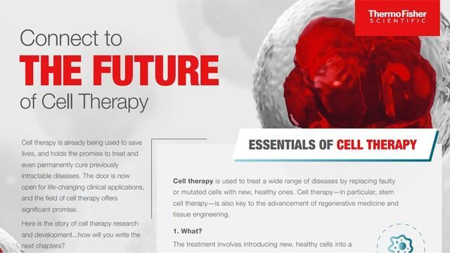 The Future of Cell Therapy