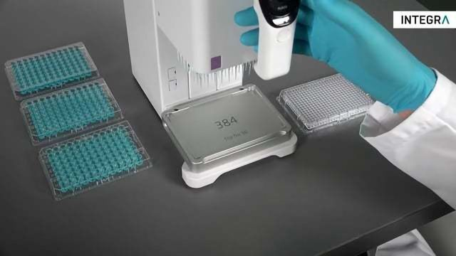 MINI 96 – 96 Channel Portable Electronic Pipette