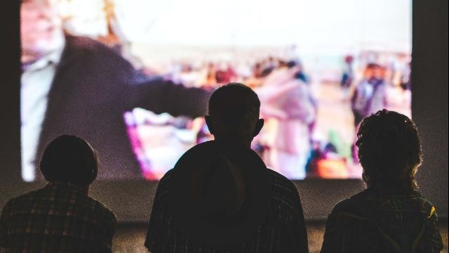 Films Can Synchronize Viewers' Heartbeats, Even If They Don't Watch Together