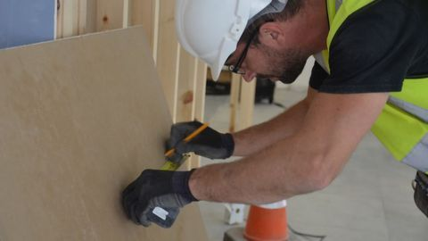 Could Bacteria Hold the Key to Environmentally Friendly Plasterboard?