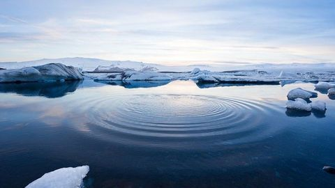 Earth's Crust Is Being Warped as Polar Ice Melts