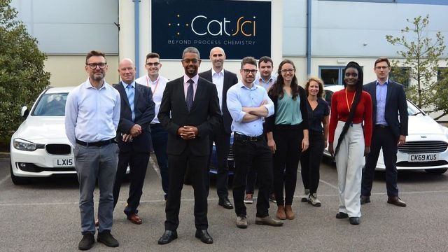 Welsh Minister of Economy Opens CatSci's New Material Science Laboratory