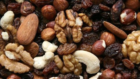 No Association Between Nuts and Weight Gain