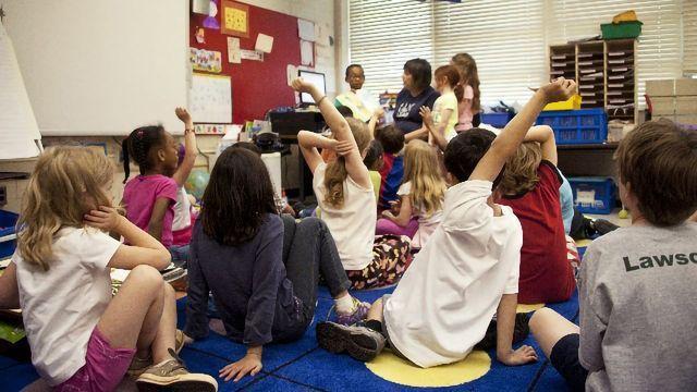 Kindergarten Language Skills Linked to White Matter Structure in Infancy