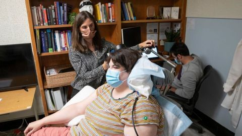 Pacemaker-Like Personalized Brain Stimulation Relieves Patient's Chronic Depression