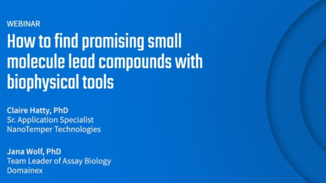 How To Find Promising Small Molecule Leads