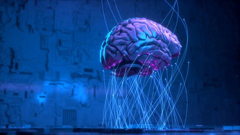 Word-Prediction Algorithms Mimic the Brain's Language Centers