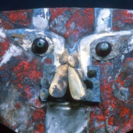 Human Blood Proteins Found in Red Paint on 1,000-Year-Old Peruvian Mask